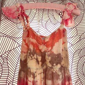 Tiare Hawaii Hollie Off the Shoulder Smocked Dress